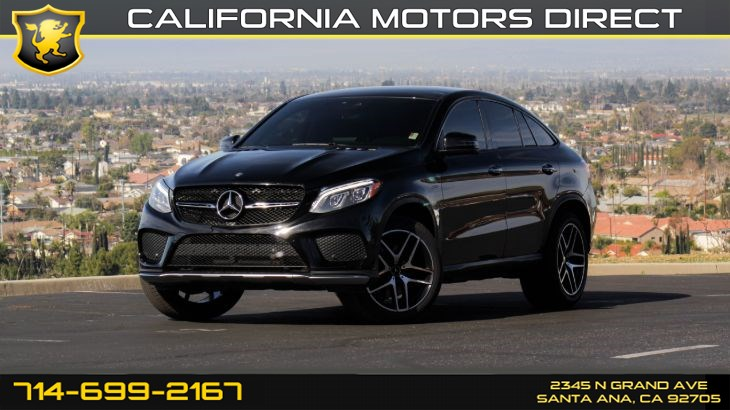 2016 Mercedes-Benz GLE 450 AMG 4MATIC Coupe (w/Premium Package)