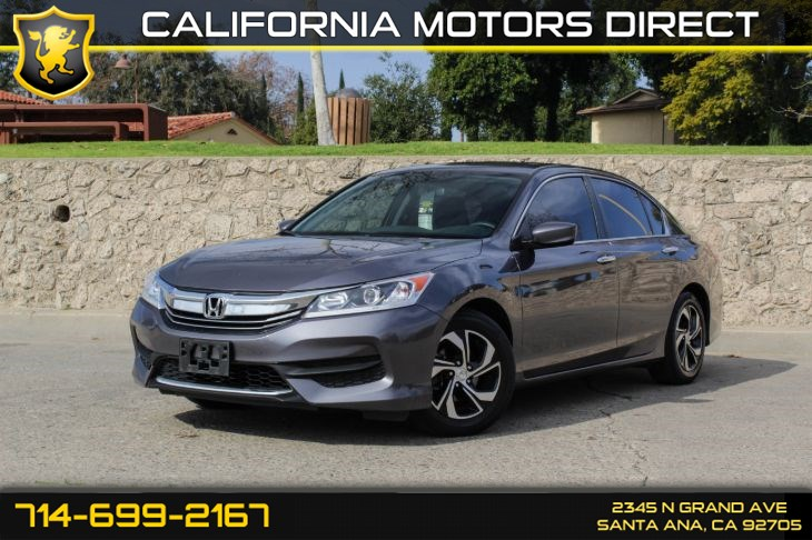 2017 Honda Accord Sedan LX (w/Rear View Camera)