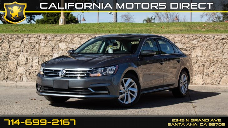2018 Volkswagen Passat 2.0T SE (W/Back-Up Camera)