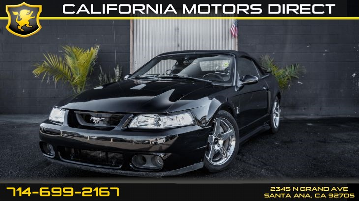 2003 Ford Mustang SVT Cobra (Supercharged V8)