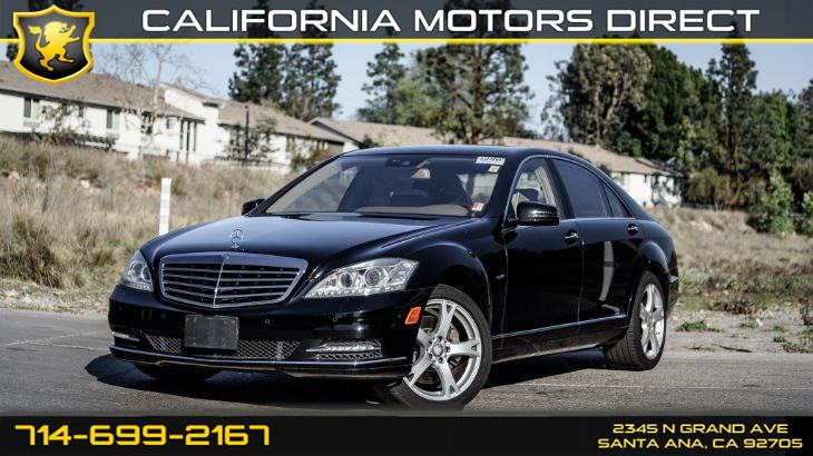 2012 Mercedes-Benz S 550 Sedan (Premium Package)