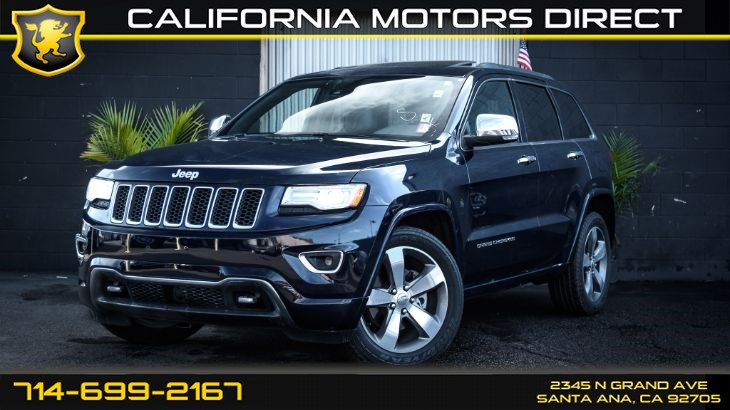 2015 Jeep Grand Cherokee Overland (Advanced Tech Package)