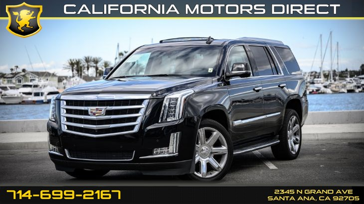 2016 Cadillac Escalade Luxury Collection (Rear Seat Entertainment System)