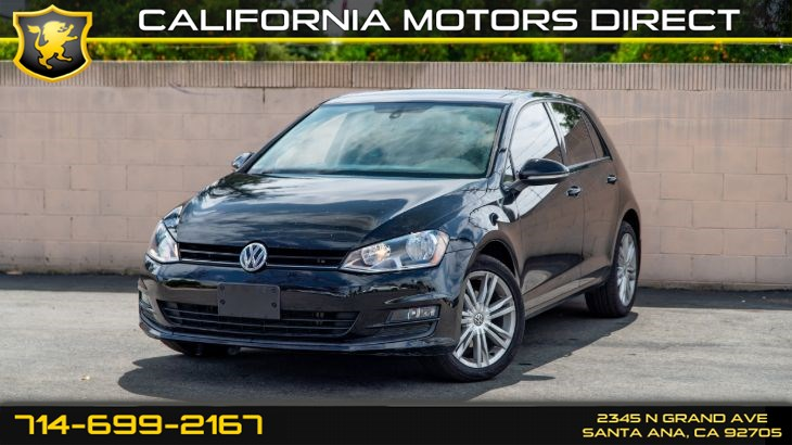 2015 Volkswagen Golf TDI SE (Backup Camera, Sunroof)