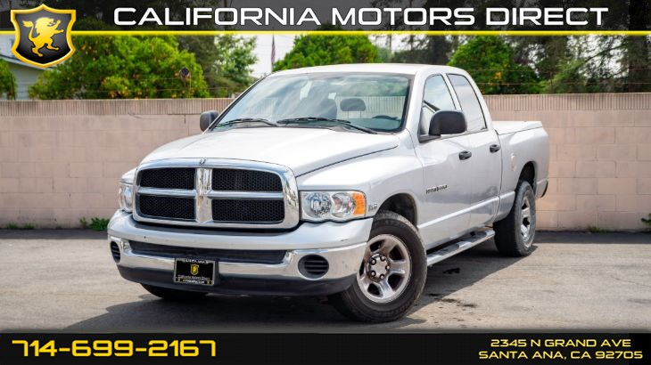 2005 Dodge Ram 1500 SLT (CD Player, Power Windows)