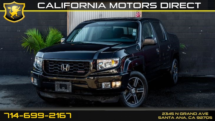 2013 Honda Ridgeline Sport (Backup Camera)