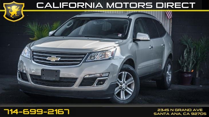 2015 Chevrolet Traverse LT (Backup Camera & SiriusXm)
