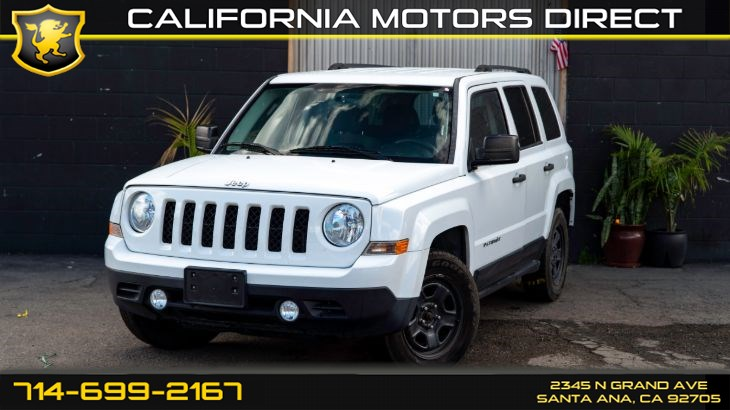 2015 Jeep Patriot Sport (CD Player)