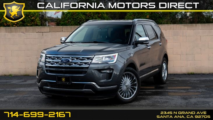 2018 Ford Explorer Limited (Navigation, Backup Camera)