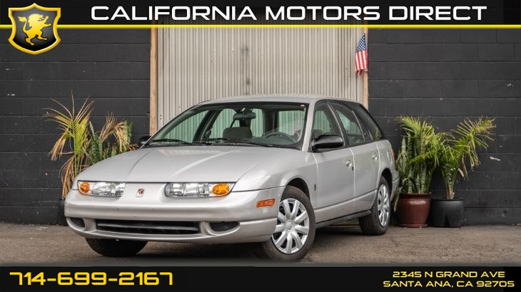 2001 Saturn SW (Super Clean)