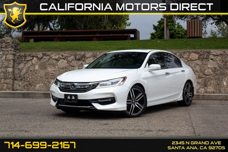 2016 Honda Accord Sedan Touring (w/Back Up Camera)