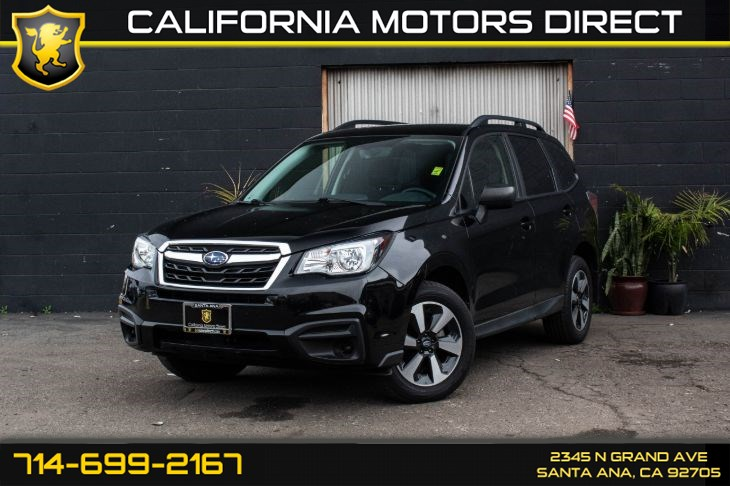 2017 Subaru Forester (w/Alloy Wheel Package)
