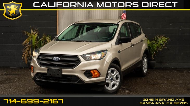 2018 Ford Escape S (Backup Camera)