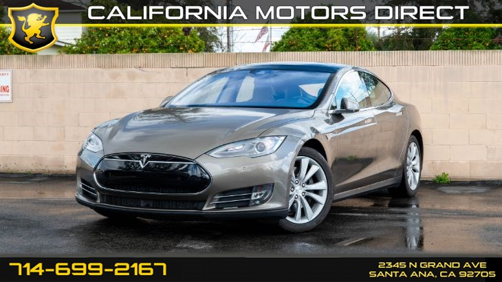 2015 Tesla Model S 85D (AUTOPILOT CONVENIENCE FEATURES)
