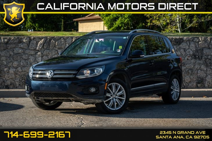 2013 Volkswagen Tiguan SE (w/Bluetooth/Premium Synthetic Seats)