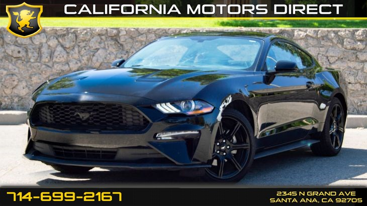 2018 Ford Mustang EcoBoost (w/10-SPEED AUTOMATIC/BLACK ACCENT PKG)