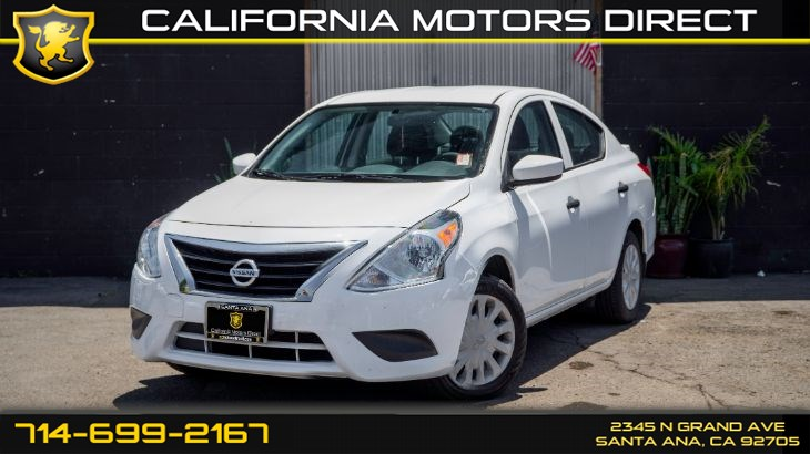 2018 Nissan Versa Sedan S Plus (CD PLayer, Alarm System)