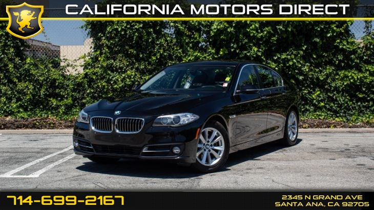 2016 BMW 5 Series 528i (w/Power Tailgate/Heated Front Seats)