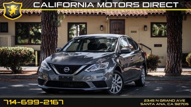 "2017 Nissan Sentra S (16"" Wheels & Cruise Control)"