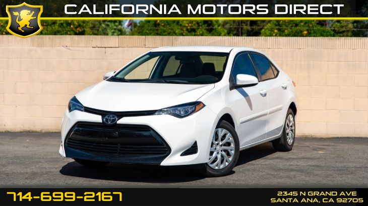 2017 Toyota Corolla LE (Backup Camera, Bluetooth)