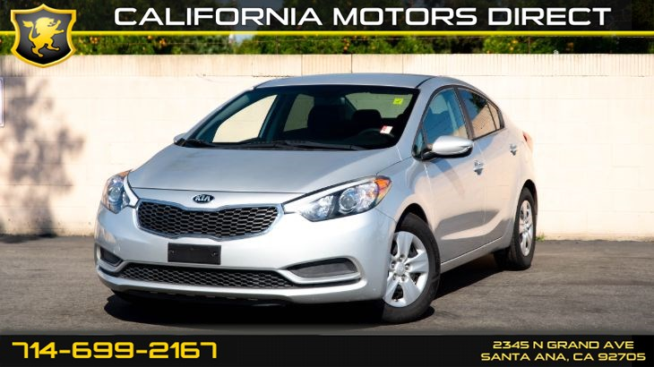 2016 Kia Forte LX (CD Player, Bluetooth)