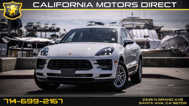 "2019 Porsche Macan (18"" Wheels & Apple Carplay)"