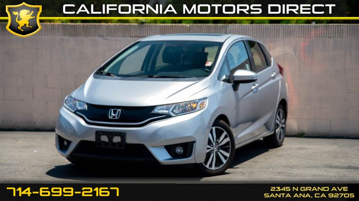 2017 Honda Fit EX-L (w/Satellite Radio/Back-Up Camera)