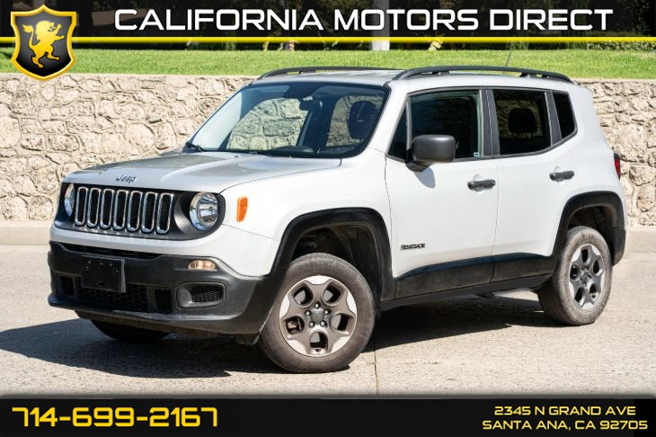 2017 Jeep Renegade Sport (w/Four Wheel Drive/Cruise Control)