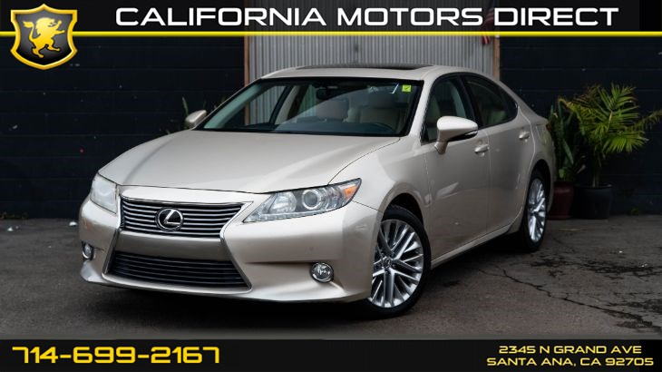 2013 Lexus ES 350 (Navigation, Backup Camera)