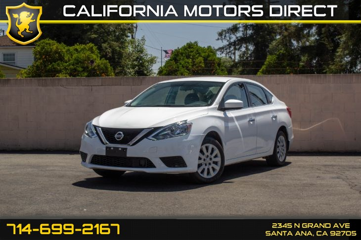 2018 Nissan Sentra S (w/Back Up Camera/Bluetooth)