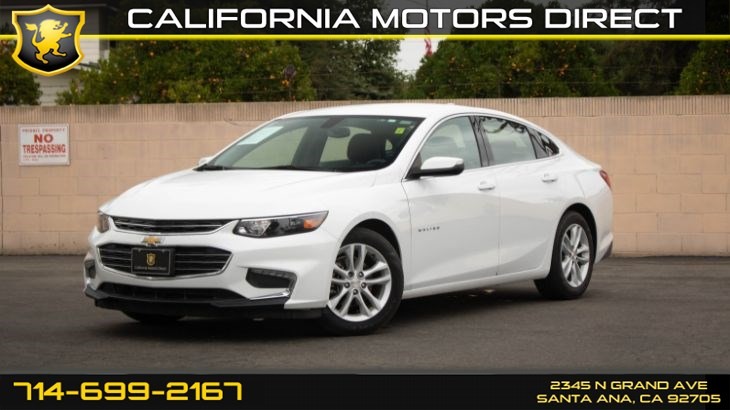 2017 Chevrolet Malibu LT (w/ Convenience & Tech Package/ Back-Up Camera)