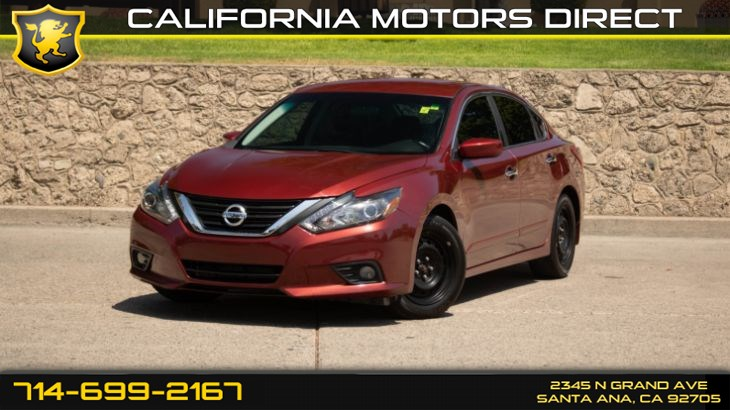 2016 Nissan Altima 2.5 SR (LED Appearance Package/ Back-Up Camera)