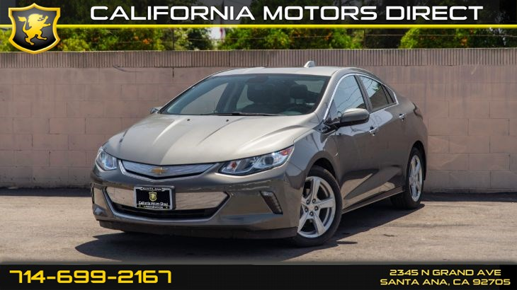 2017 Chevrolet Volt LT (Backup Camera, Bluetooth)