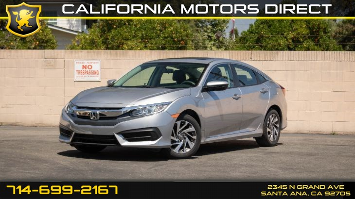 2017 Honda Civic Sedan EX (w/Back-Up Camera/ Keyless Entry)