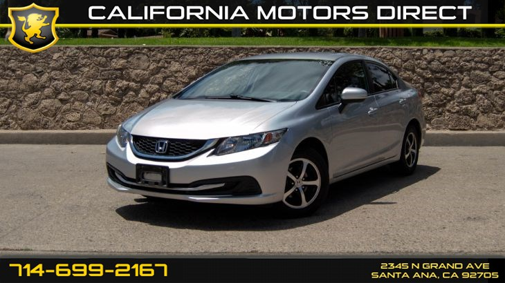 2015 Honda Civic Sedan LX (Backup Camera, CD Player )