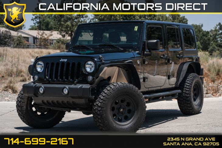 2017 Jeep Wrangler Unlimited Sport (w/6-Speed Manual/Four Wheel Drive)