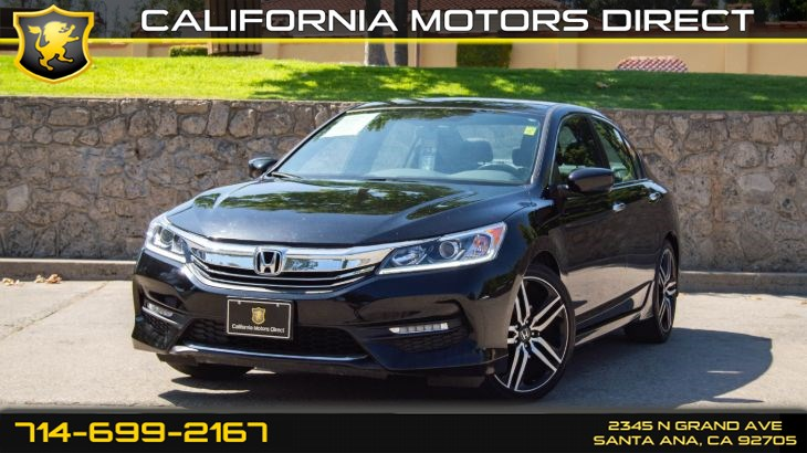 2016 Honda Accord Sedan Sport (Backup Camera, Bluetooth)