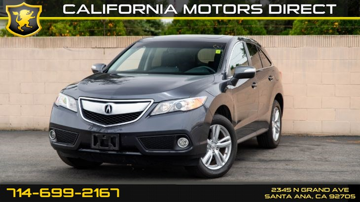 2015 Acura RDX Tech Pkg (Navigation, Sunroof)