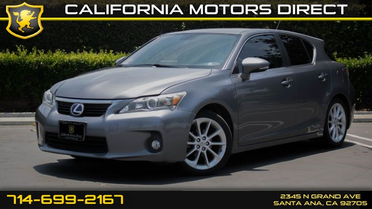 2013 Lexus CT 200h Hybrid (w/Bluetooth/ Keyless Entry )