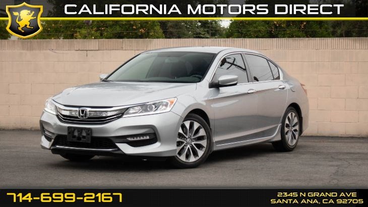 2017 Honda Accord Sedan Sport (w/Back-Up Camera/ Cruise Control)