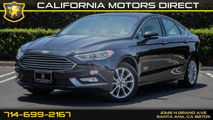 2017 Ford Fusion Energi SE (w/Equipment Group/Navigation System)