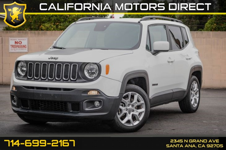 2017 Jeep Renegade Latitude (w/Navigation/Back-Up Camera)