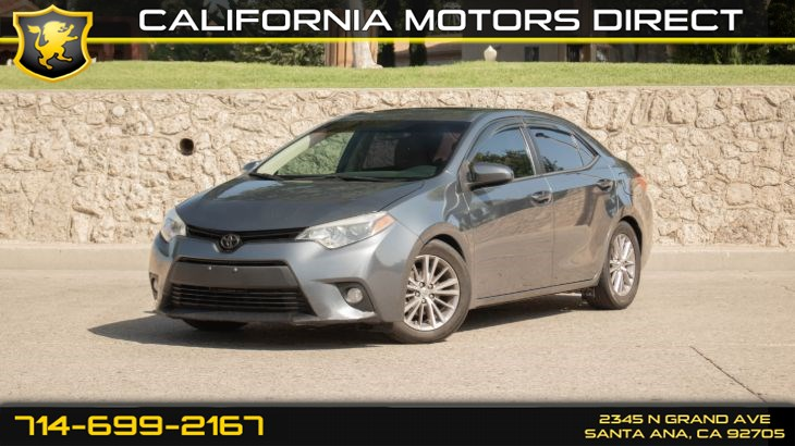 2014 Toyota Corolla LE (w/ LE Plus Package/ Remote Trunk Release)