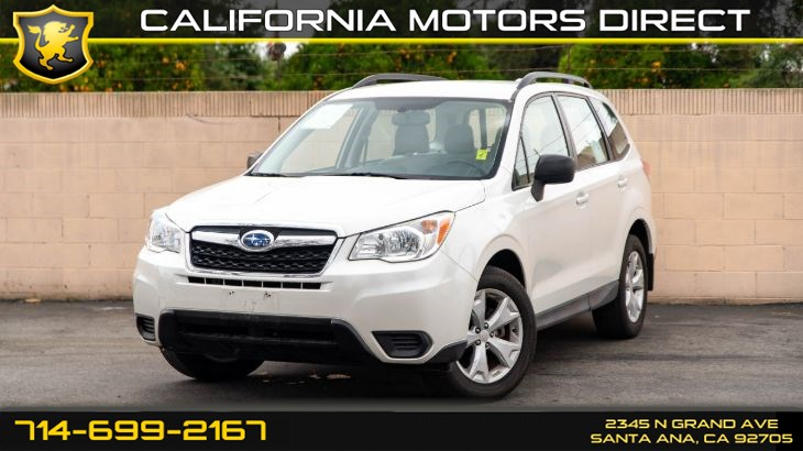 2016 Subaru Forester 2.5i (Backup Camera, Bluetooth)