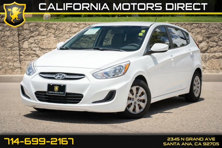 2016 Hyundai Accent SE (w/Keyless Entry/Bucket Seats)