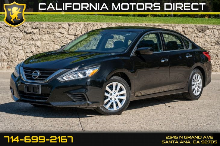 2016 Nissan Altima 2.5 S (w/Back-Up Camera/Cruise Control)