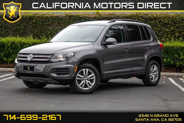 2016 Volkswagen Tiguan S (w/Back-Up Camera/ Keyless Entry)