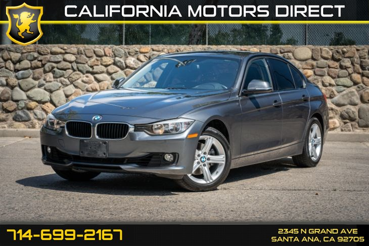 2015 BMW 3 Series 328i (w/Cruise Control/Leather Steering Wheel)