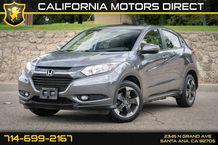 2018 Honda HR-V EX (w/All Wheel Drive/Backup-camera)
