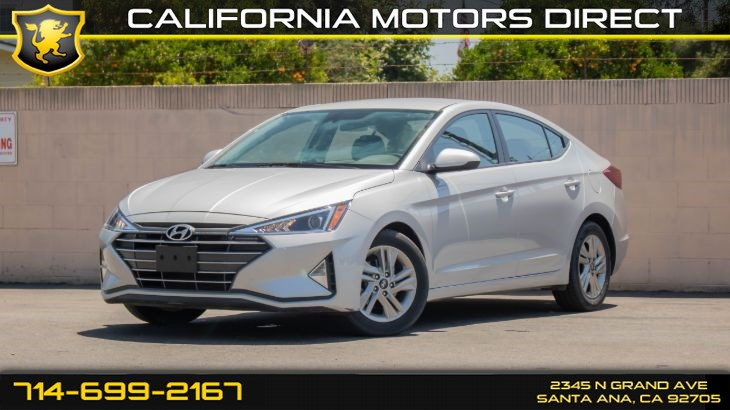 2020 Hyundai Elantra SEL (w/ Keyless Entry/ Back-Up Camera)